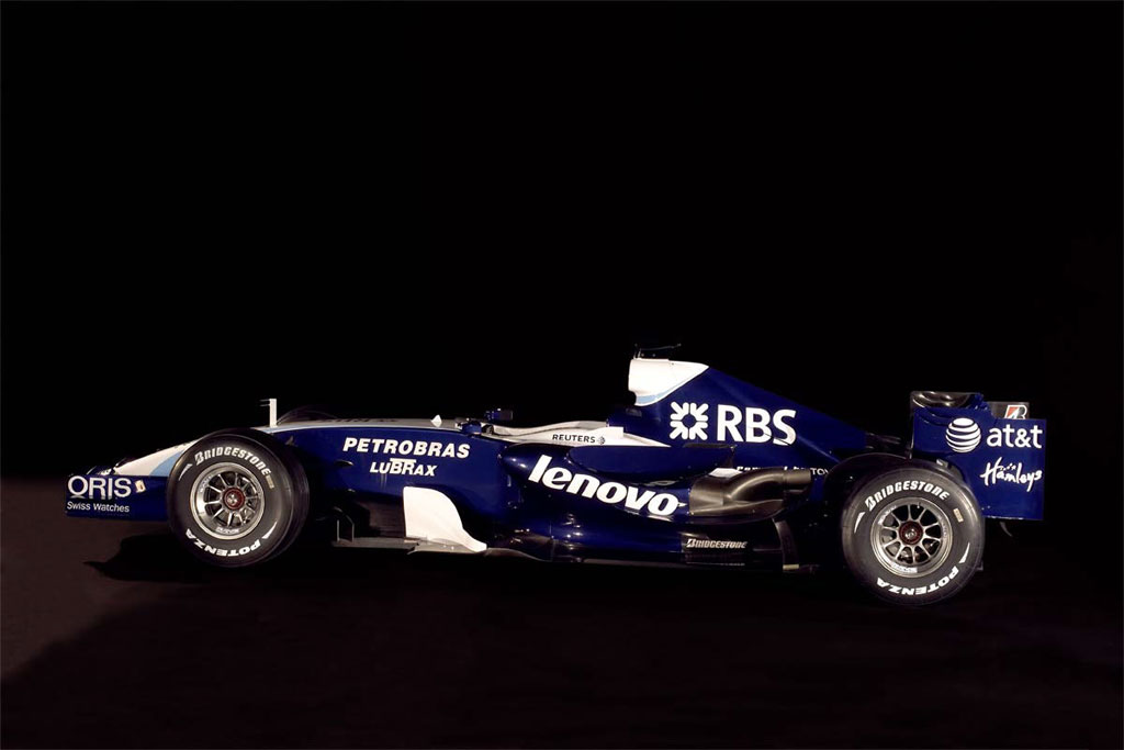 2007 Williams Formula One Car And Driver Photos