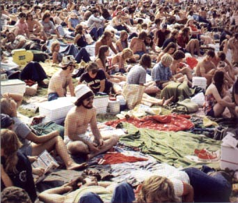 1972 - Hippies in the Indy 500 Infield