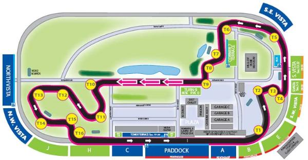 where to sit at indy to see the race adventure rider